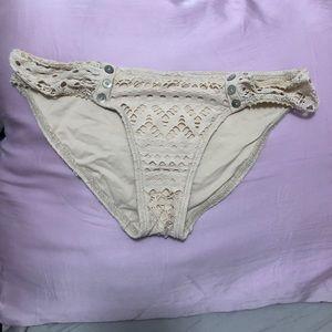 Robin Piccone Swim Suit Bottoms Beige/Nude